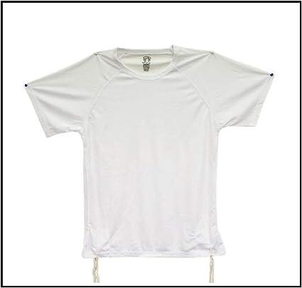 Dri-Fit Tzitzit - Camiseta Tallit katan blanca transpirable ...