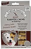 Cheap Tartar Shield Soft Rawhide Chews for Small Dogs