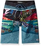 O'Neill Big Boys' Hyperfreak Quick Dry Stretch Boardshort, Dark Blue, 23
