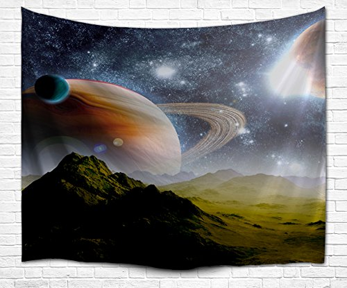Planet Outspace Tapestry along with Earth Moon and for sale  Delivered anywhere in Canada