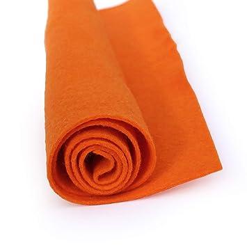 Amazon.com: Sunburst Orange – Sábana de fieltro de lana de ...