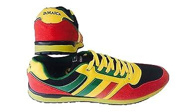Reggae Jamaica Rasta Running Sport Chaussures INIWEAR Baskets de 6Cq4wX