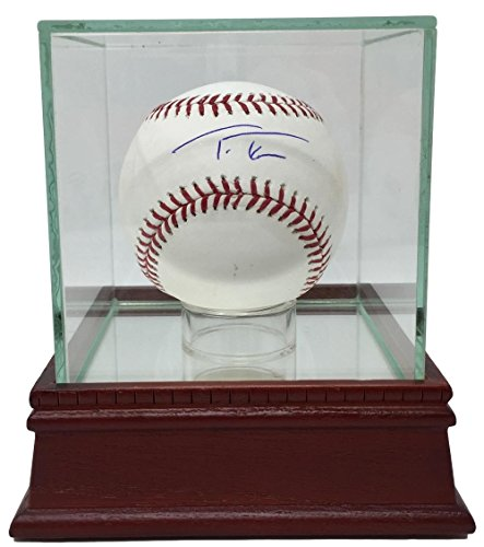 Trea Turner Signed Nationals Official MLB Baseball BAS w/UV Protective Glass Display Case