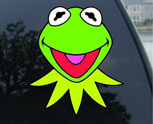 KERMIT Muppets Jim Henson Vynil Car Sticker Decal - (6.5