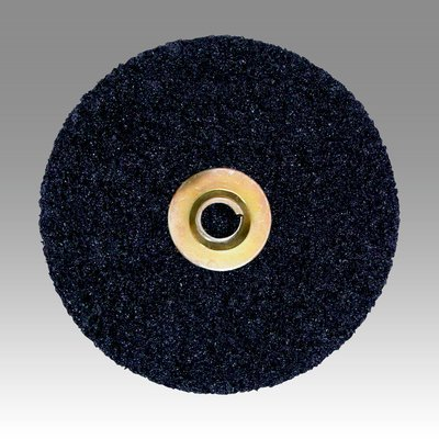 3M Scotch-Brite SL-DN Non-Woven Aluminum Oxide Quick Change Disc - Coarse Grade - 7 in Dia - 7000 Max RPM - 60288 [PRICE is per CASE] (Disc Qck)