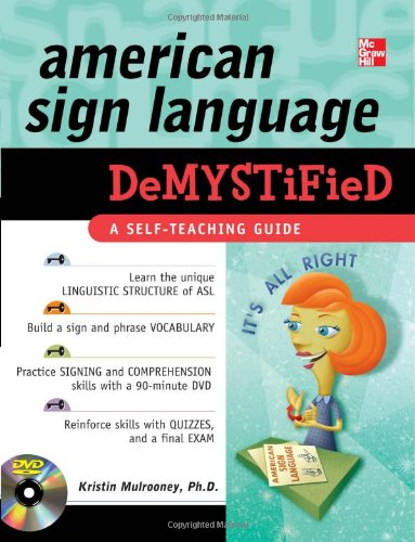 Demystified Dvd - American Sign Language Demystified (Book & DVD)