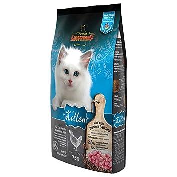Leonardo Kitten - Comida seca 7,5 kg Un alimento saludable para gatos