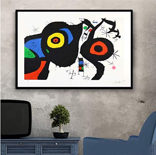 Pintor famoso Pintor famoso Pinturas de arte moderno Cuadro abstracto Cartel retro e impresiones Arte de la pared Lienzo Cuadros de pared para la sala de estar Decoracion del hogar 50X70 Cm Sin marco