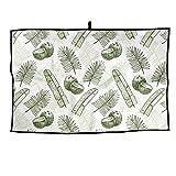 RUNNING BEAN Coconut Golf Towel Fashion Sports Towel Player Towel