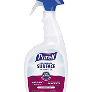 GOJO 3341-06 PURELL Foodservice Surface Sanitizer with Spray Trigger, 32 fl. oz. (Pack of 6)