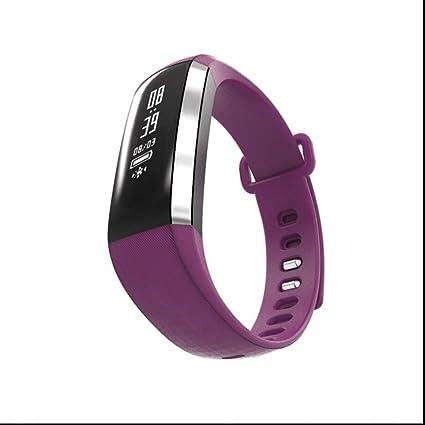 Fitness pulsera actividad Tracker Pulso Reloj Tensiómetro de sangre Oxígeno Dormir Análisis sess hafte Recuerdo podómetro