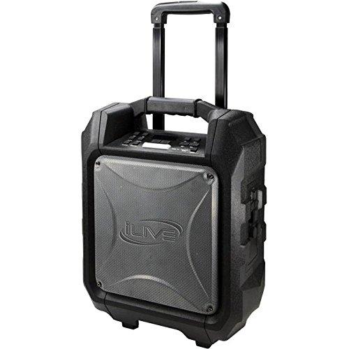 iLive- Portable Bluetooth Speaker - Black