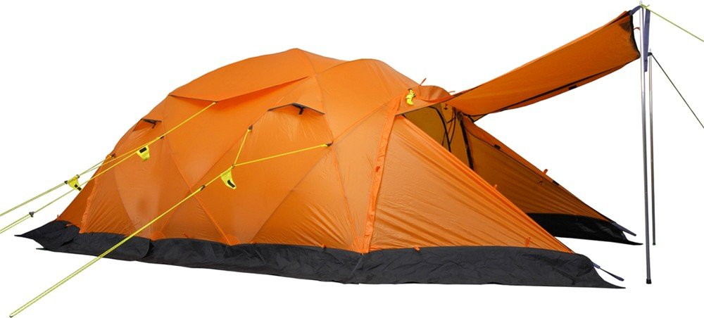 Wechsel Tents Kuppelzelt Conqueror - Unlimited Line - 3-Personen Geodät Expeditionszelt, extrem sturmstabil