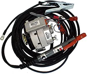 """ZENA Model MW150.40, 150 amp DC, 100% duty, engine driven welder kit (w/40' cables & remote controls) - attach to small engine or vehicle - repair a""""dead"""" motor driven welder with OK engine"""