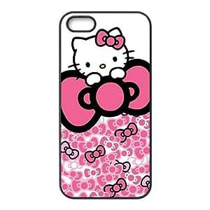 DASHUJUA Hello kitty Phone Case for iPhone 5S Case