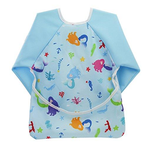 hi-sprout-unisex-infant-toddler-baby-super-waterproof-sleeved-bib-reusable-bib-with-sleeves-pocket-1