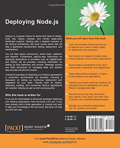 Deploying Node js: Sandro Pasquali: 9781783981403: Amazon
