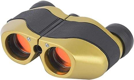 Alomejor Mini Monocular Telescopes 8X//10X Focus HD Telescope Pocket Size Black Suitable For Birds//Wildlife//Hunting Wacthing