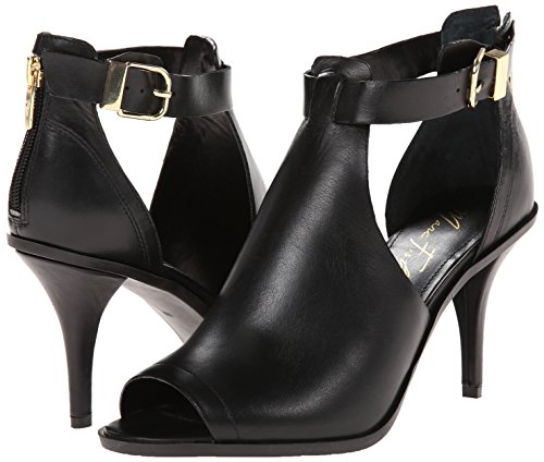 Klassische Toe Pumps Peep Marc Birte Frauen Black Leder Fisher wxpaOY