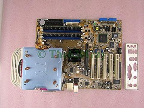 Asus P4C800-E Deluxe REV 2.0 Motherboard + Pentium 4 3GHz CPU + 1GB RAM + HSF IO - Asus P4c800 Deluxe Motherboard