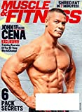 img - for MUSCLE & FITNESS Magazine March 2017 JOHN CENA Training Secrets, Jen Widerstrom book / textbook / text book