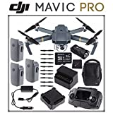 DJI Mavic Pro Fly More Combo + DJI Aircraft Sleeve + SONY 32GB microSD Memory Card & MORE! (27pc Bundle)