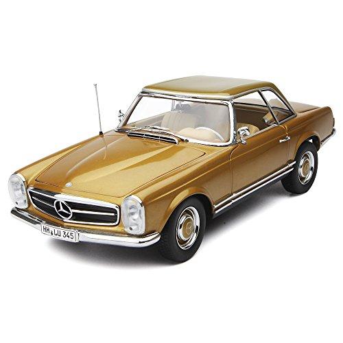 1/18 メルセデスベンツ 230 SL (1963) ハードトップ (ゴールド) 183503