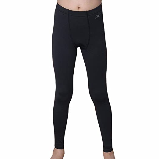 b1764d2f7ae40 Thermal Underwear Kids Tights Leggings Base Layer Compression Pants Napping  PSK BK S