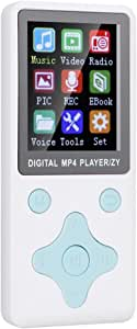 Music Player, MP4 Player, Bluetooth 4.2 8G for Music Lovers,(White)