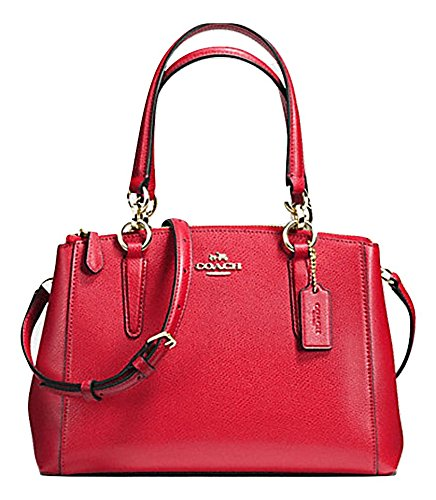 Coach Smth Leather Christie F36680 (Classic Red)