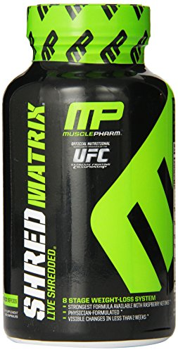 Muscle Pharm Shred Matrix, 120 Capsules by Muscle Pharm