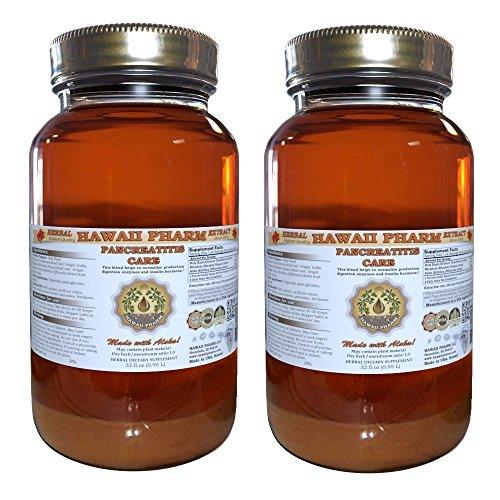 Pancreatitis Care Liquid Extract Herbal Dietary Supplement 2x32 oz by HawaiiPharm