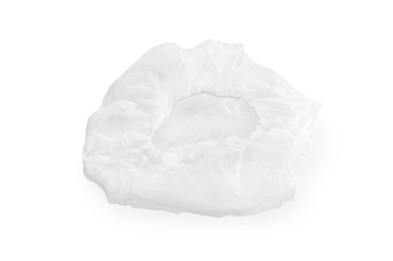 Emeready LFBCW24 Disposable Bouffant Cap, 24'', Large, White (Pack of 1000) by Emeready