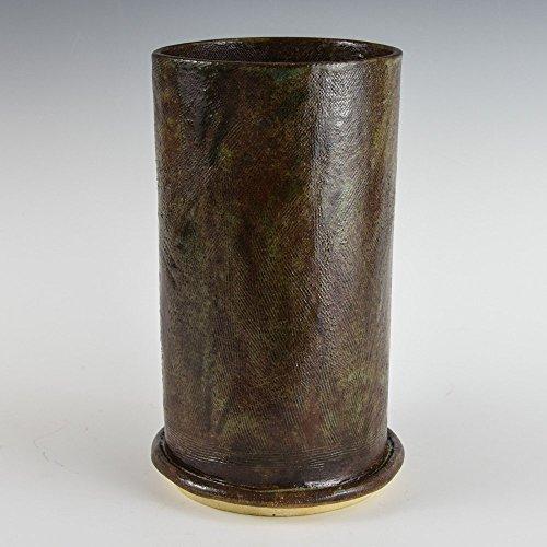 Amazon Com Stoneware Earthy Dark Brown Beautiful Greenish Color