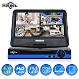 10 LCD WiFi NVR Only Match with Hiseeu Bullet Camera