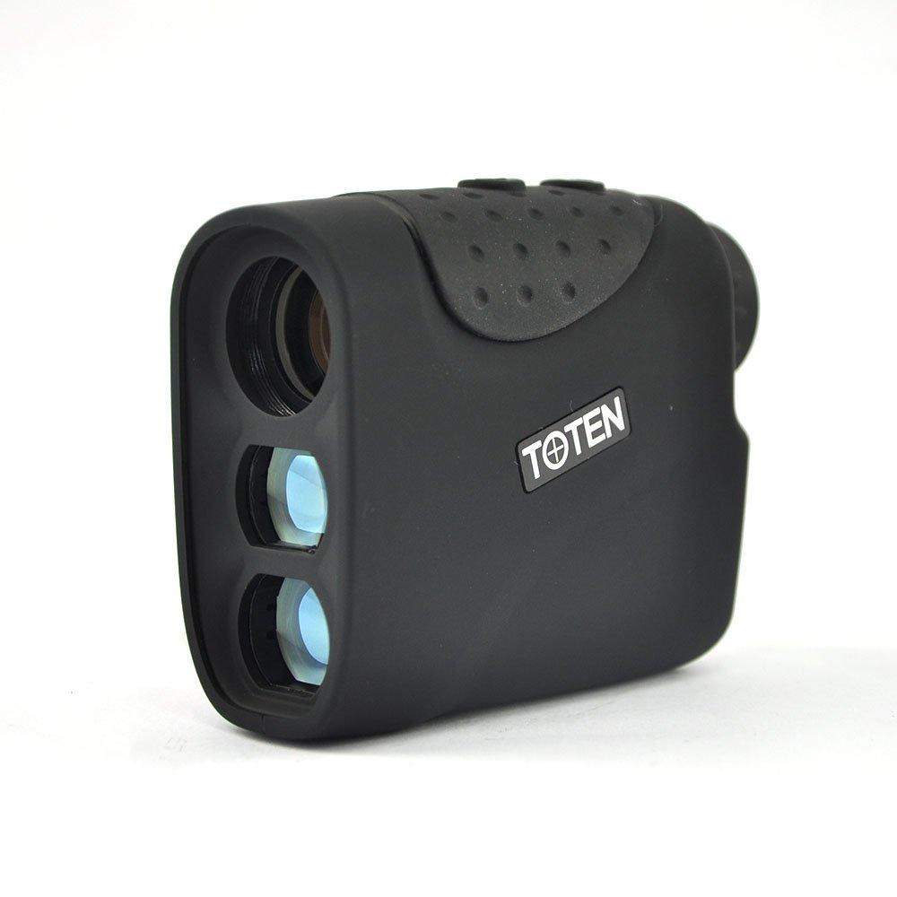 TOTEN Range Finder 6x21 Laser Rangefinder Hunting Golf Rain Model 1200m New Black for Viewing by TOTEN