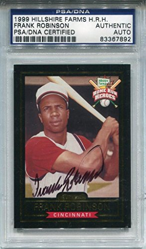 frank-robinson-autographed-1999-hillshire-farms-card-psa-mlb-autographed-baseball-cards