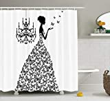 Ambesonne Shower Curtain Review and Comparison