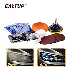 EASTUP Headlight Lens Restoration Kit