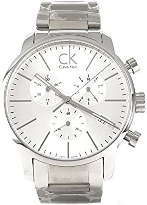 Men's Calvin Klein ck City Chronograph Dress Watch K2G27146