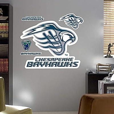 Chesapeake Bayhawks Logo REAL.BIG. Fathead by Fatheads