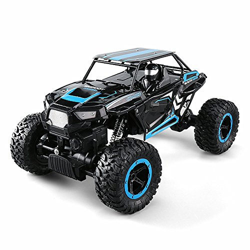 FLYZOE RC Car, 2.4GHz 1:14 Scale Rock Crawler 4 Wheel Drive Radio Remote Control Off Road Monster Truck
