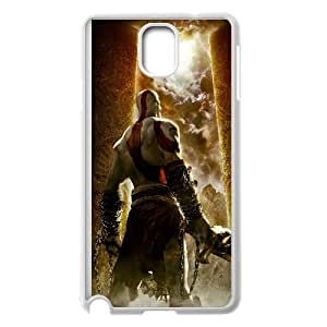 Kratos God Of War Game Samsung Galaxy Note 3 Cell Phone Case White y2e18-342391