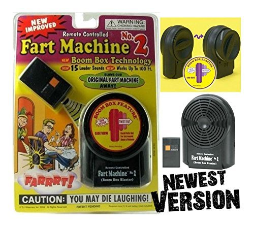 Forum Novelties Fart Machine No. 2 - Wireless Remote Controlled ~ Newest Improved Model Gag Toys