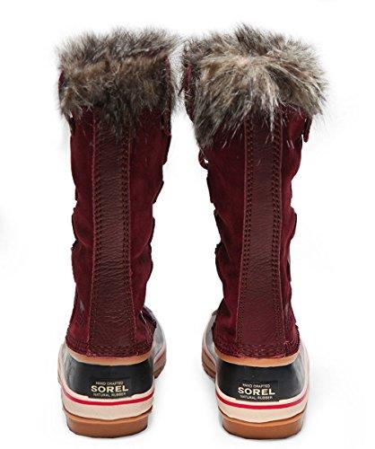SOREL Women's Joan Of Arctic Redwood/Red Element 9 B US by SOREL (Image #4)