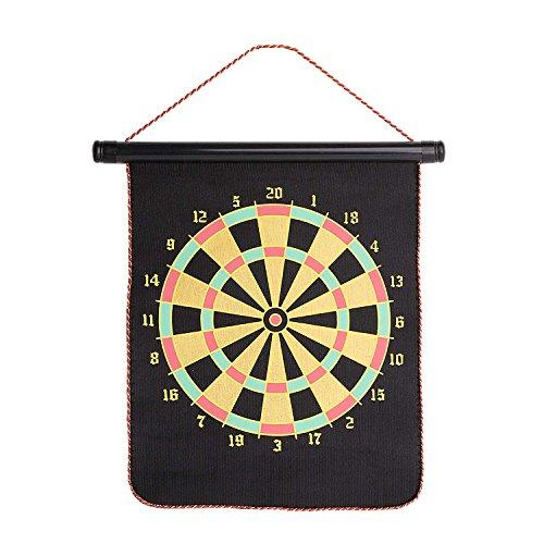 磁気 ダーツボード ブランケット マグネット式 ダーツ矢 4本付き ソフト 両面式 壁掛けボード 家庭用 練習 室内遊び おもちゃ 安全 子供でも使用可能 競技ゲーム