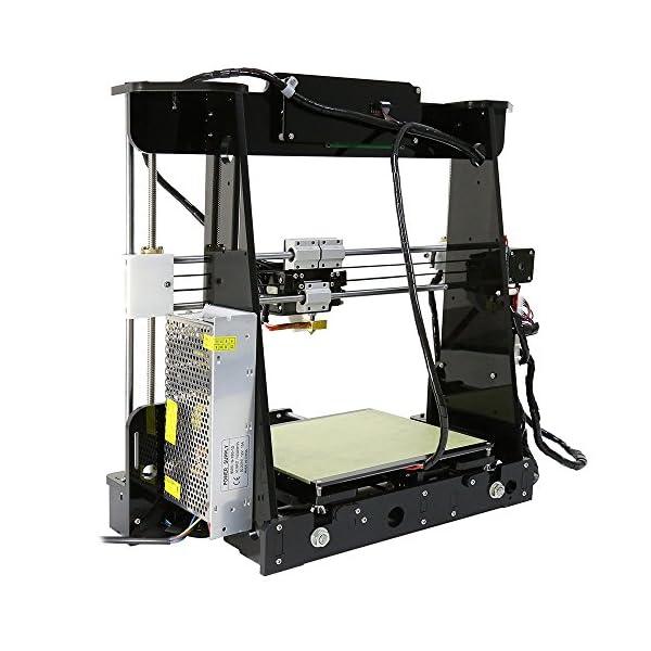 Sinis 3d printings anet a8 3d printer with large printing size 220220240mm reprap prusa i3 desktop diy 3d printer kit
