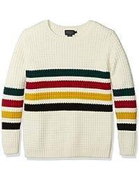 Women's Glacier Stripe Merino Sweater