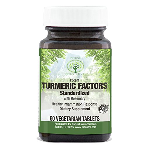 Natural Nutra Turmeric Curcumin Supplement with Rosemary, 95% Curcuminoids, 350mg, 60 Tablets