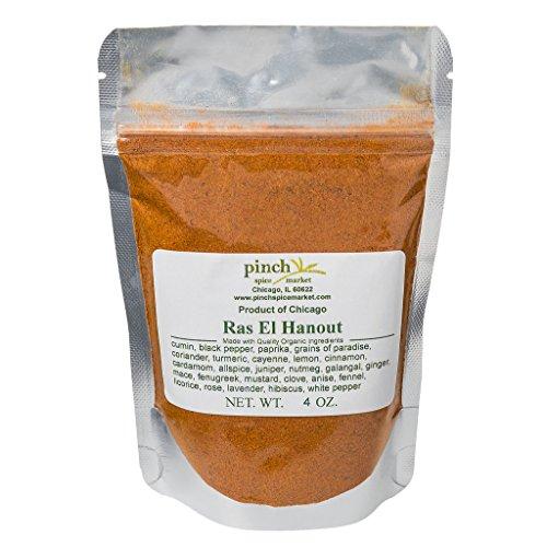 - Pinch Spice Market, Ras El Hanout, 26 Ingredient Organic Moroccan Spice